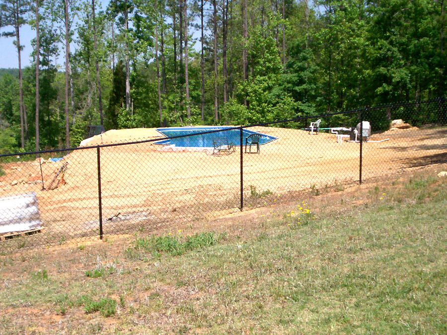 Paulding County Residential Chain Link Fencing