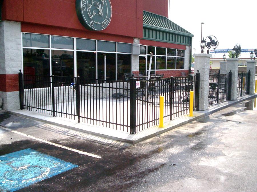 Commercial Decorative Metal Fencing Powder Springs, Ga