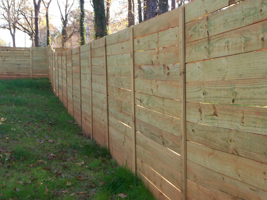 Commercial Wood Fencing Douglasville, Ga